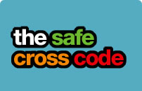 safe cross code