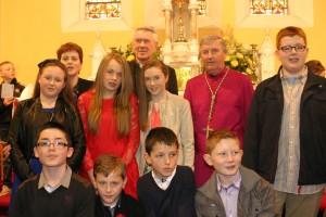 Fr Toner and Bishop group