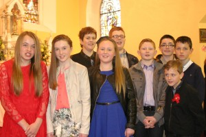 Group Picture Dunsany Confirmation 2014
